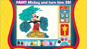 Androidアプリ「Mickey's Color and Play!」のスクリーンショット 2枚目