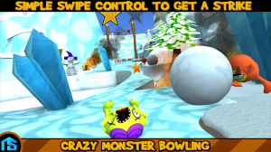 Androidアプリ「Crazy Monster Bowling」のスクリーンショット 3枚目