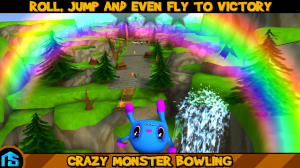 Androidアプリ「Crazy Monster Bowling」のスクリーンショット 4枚目