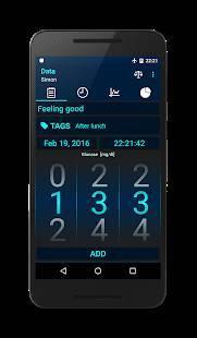 Androidアプリ「糖尿病 - 血糖値日記」のスクリーンショット 1枚目