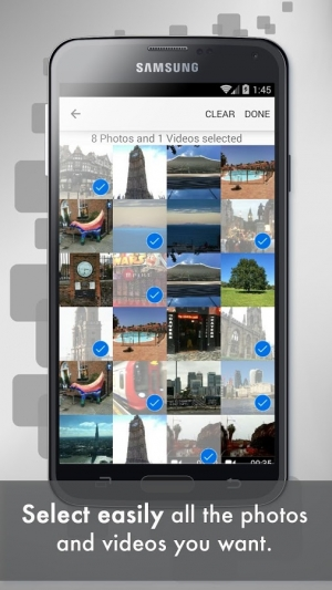 Androidアプリ「Easy Photo and Video Transfer」のスクリーンショット 2枚目