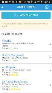 Androidアプリ「パリガイド、ホテル、天気、イベント、マップ、モニュメント」のスクリーンショット 3枚目