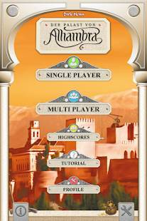 Androidアプリ「Alhambra Game」のスクリーンショット 2枚目