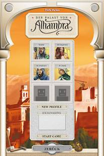 Androidアプリ「Alhambra Game」のスクリーンショット 1枚目