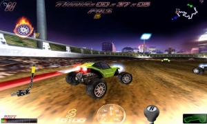 Androidアプリ「Cross Racing Ultimate Free」のスクリーンショット 2枚目