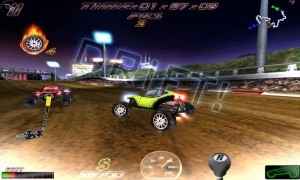 Androidアプリ「Cross Racing Ultimate Free」のスクリーンショット 4枚目