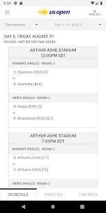 Androidアプリ「2019 US Open Tennis Championships」のスクリーンショット 2枚目