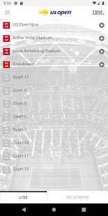 Androidアプリ「2019 US Open Tennis Championships」のスクリーンショット 3枚目