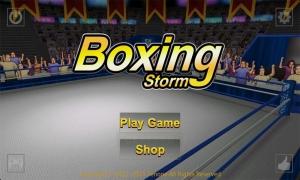 Androidアプリ「ボクシング ストーム」のスクリーンショット 1枚目