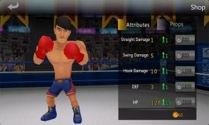 Androidアプリ「ボクシング ストーム」のスクリーンショット 4枚目