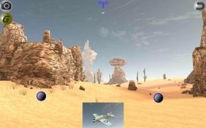 Androidアプリ「3Dラジコン飛行機シミュレータ - RC FlightS」のスクリーンショット 1枚目