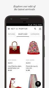 Androidアプリ「NET-A-PORTER」のスクリーンショット 2枚目