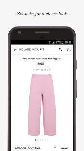 Androidアプリ「NET-A-PORTER」のスクリーンショット 3枚目