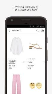 Androidアプリ「NET-A-PORTER」のスクリーンショット 4枚目