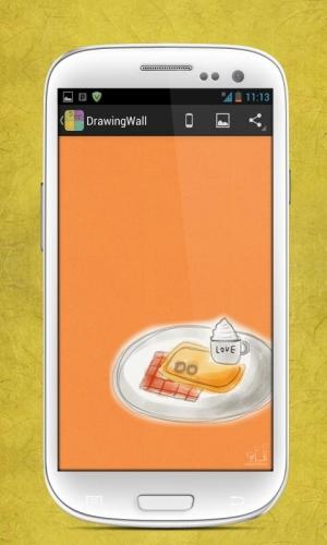 Androidアプリ「DrawingWall - 最高の壁紙」のスクリーンショット 5枚目
