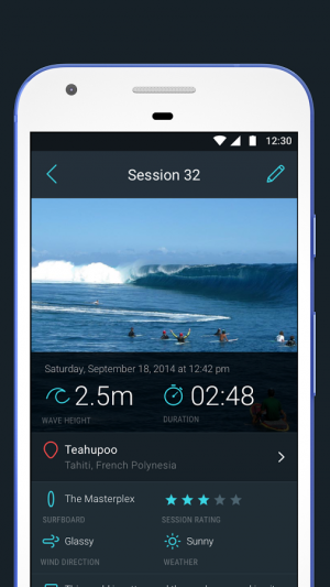 Androidアプリ「Glassy Surf Report | Forecast」のスクリーンショット 5枚目