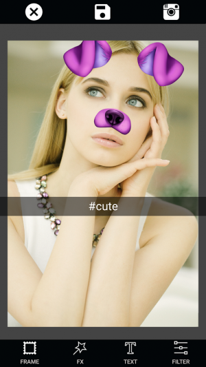 Androidアプリ「Color Effect Photo Editor」のスクリーンショット 2枚目