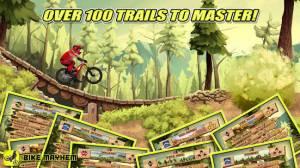 Androidアプリ「Bike Mayhem Mountain Racing」のスクリーンショット 4枚目