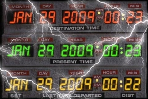 Androidアプリ「DeLorean Time Circuit」のスクリーンショット 2枚目