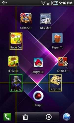 Androidアプリ「Regina 3D Launcher」のスクリーンショット 4枚目