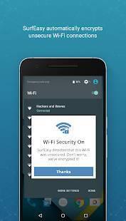 Androidアプリ「SurfEasyセキュア アンドロイドVPN」のスクリーンショット 4枚目