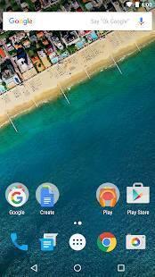 Androidアプリ「Google Nowランチャー」のスクリーンショット 1枚目