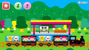 Androidアプリ「電車でしゅっぱつしんこう!」のスクリーンショット 1枚目