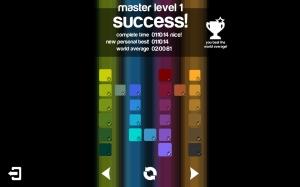 Androidアプリ「Blendoku」のスクリーンショット 3枚目