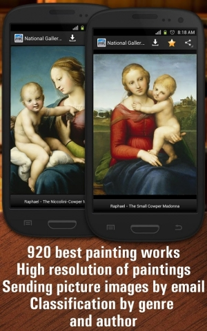 Androidアプリ「National Gallery of Art HD」のスクリーンショット 1枚目