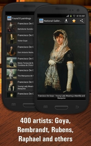 Androidアプリ「National Gallery of Art HD」のスクリーンショット 2枚目