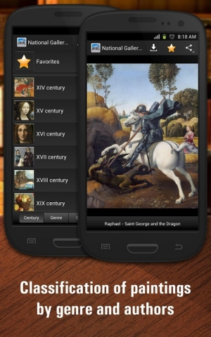 Androidアプリ「National Gallery of Art HD」のスクリーンショット 3枚目