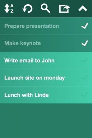 Androidアプリ「TinyList」のスクリーンショット 3枚目