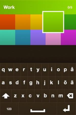 Androidアプリ「TinyList」のスクリーンショット 2枚目