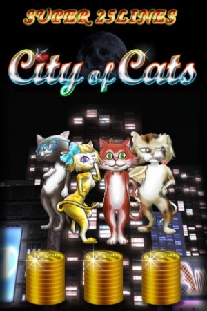 Androidアプリ「SUPER 25LINES CITY OF CATS」のスクリーンショット 4枚目