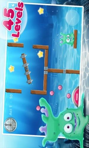 Androidアプリ「Alien Fishtank Frenzy」のスクリーンショット 2枚目