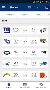 Androidアプリ「NFL Game Pass Intl」のスクリーンショット 1枚目