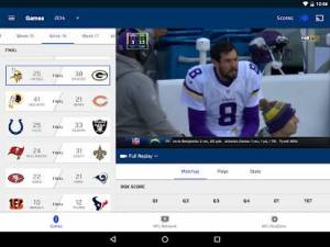 Androidアプリ「NFL Game Pass Intl」のスクリーンショット 5枚目