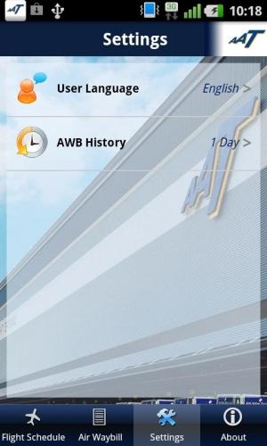 Androidアプリ「AAT Mobile」のスクリーンショット 4枚目