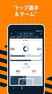 Androidアプリ「Goal ライブスコア - サッカー試合速報」のスクリーンショット 2枚目