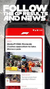 Androidアプリ「Official F1 ® App」のスクリーンショット 4枚目