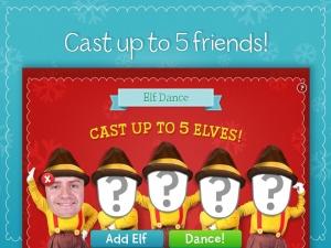 Androidアプリ「Elf Dance by JibJab®」のスクリーンショット 2枚目