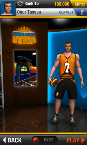 Androidアプリ「Basketball Kings: Multiplayer」のスクリーンショット 3枚目