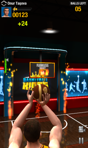 Androidアプリ「Basketball Kings: Multiplayer」のスクリーンショット 5枚目