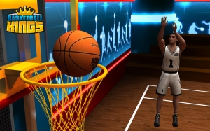 Androidアプリ「Basketball Kings: Multiplayer」のスクリーンショット 1枚目