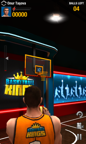 Androidアプリ「Basketball Kings: Multiplayer」のスクリーンショット 2枚目