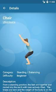Androidアプリ「Pocket Yoga」のスクリーンショット 4枚目