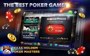 Androidアプリ「Texas Holdem:Poker Masters」のスクリーンショット 1枚目