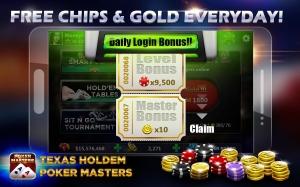 Androidアプリ「Texas Holdem:Poker Masters」のスクリーンショット 2枚目