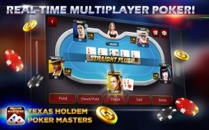 Androidアプリ「Texas Holdem:Poker Masters」のスクリーンショット 3枚目