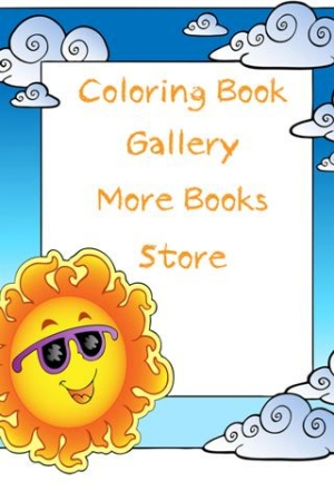Androidアプリ「子供の塗り絵本!」のスクリーンショット 1枚目